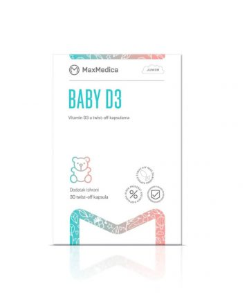 MaxMedica Baby D3 sol