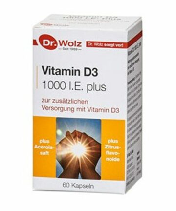 Dr.Wolz Vitamin D capsules