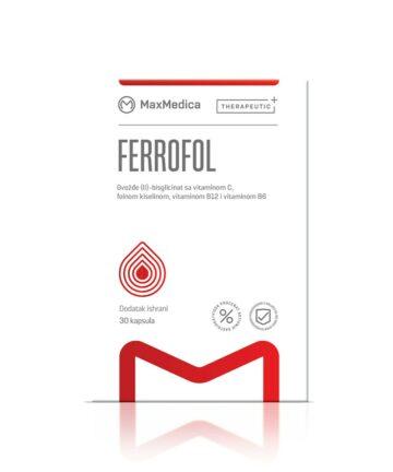 MaxMedica Ferrofol capsules