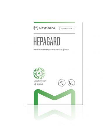 MaxMedica Hepagard capsules