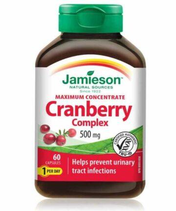 Jamieson Cranberry Complex tablets