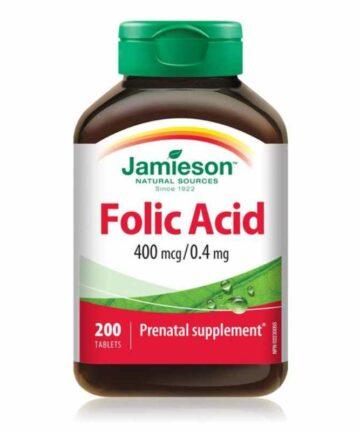 Jameison folic acid