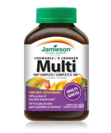 Jamieson multivitamin chewable tablets