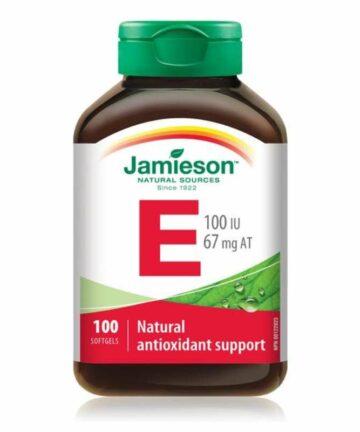Jamieson Vitamin E 100IU