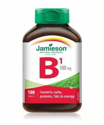Jamieson Vitamin B1 tablets