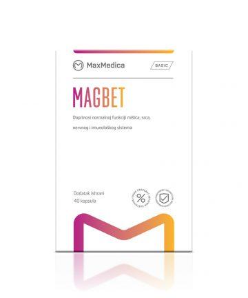 MaxMedica Magbet capsules