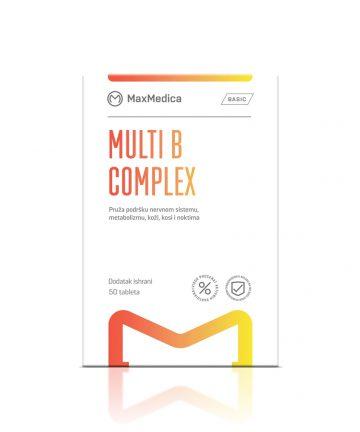 MaxMedica Multi B-complex tablets