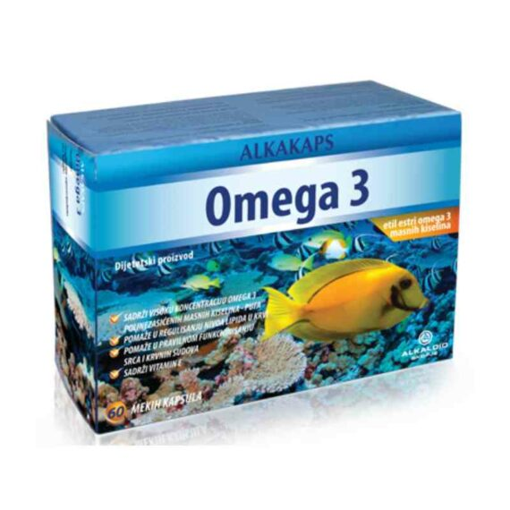 Alkacaps Omega 3 capsules