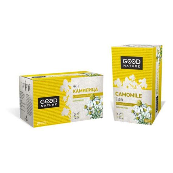 Becutan chamomile tee filter bags