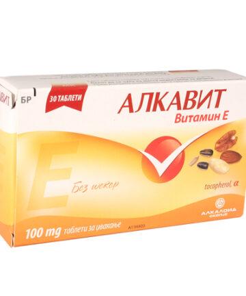 Alkavit Vitamin E chewable tablets