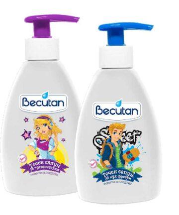 Becutan liquid soap