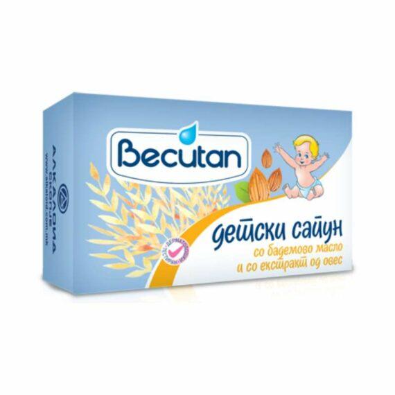 Becutan Kids toilet soap almond