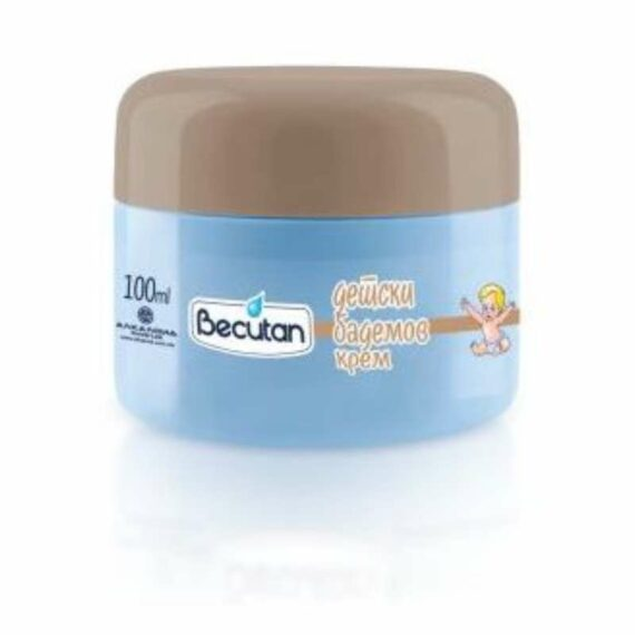 Becutan kids almond cream 100ml