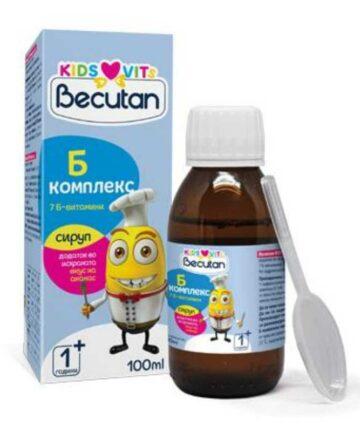 Becutan Kids Vits B-complex sirup