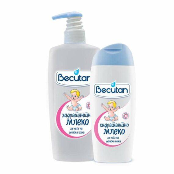 Becutan Kids body milk collection