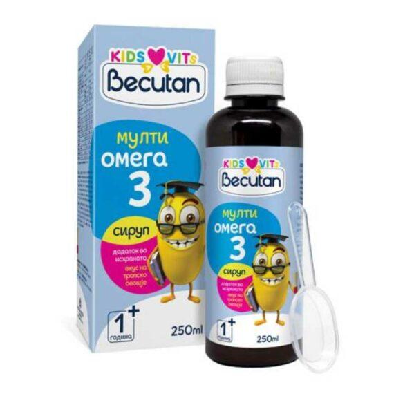 Becutan multi omega3 sirup