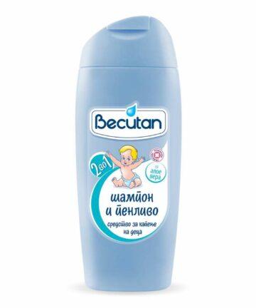 Becutan Shampoo and bath