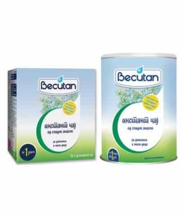 Becutan instant fennel tea
