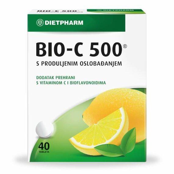 Dietfarm Bio-C 500mg prolonged release tablets