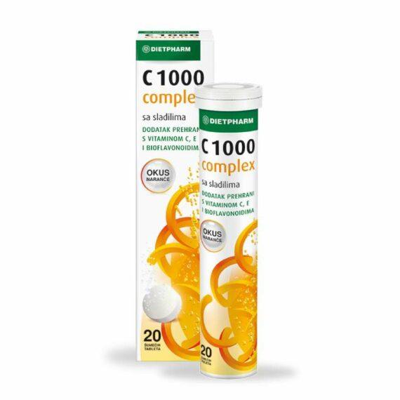 Dietfarm Vitamin C complex effervets