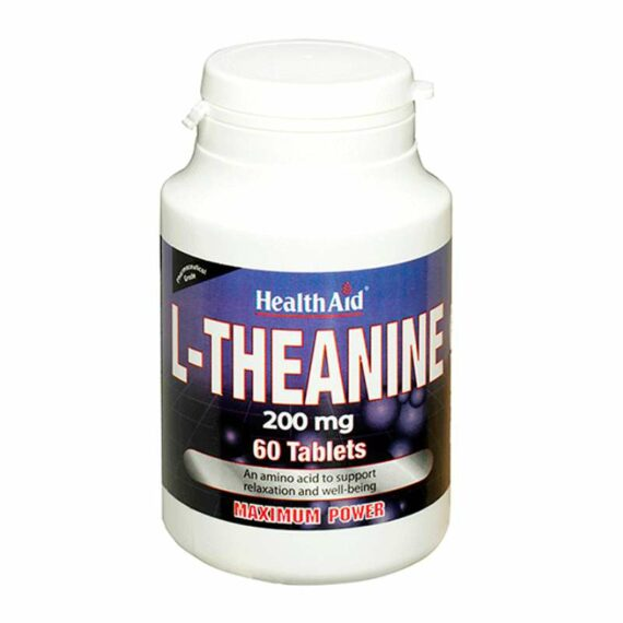 Health Aid L-Theanine tablets