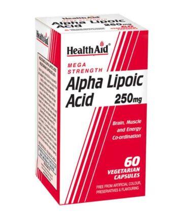 Health Aid Alpha Lipoic Acid capsules