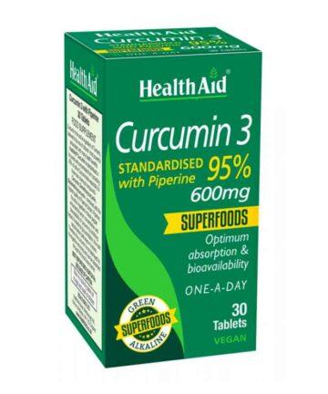 Health Aid Curcumin 3 tablets