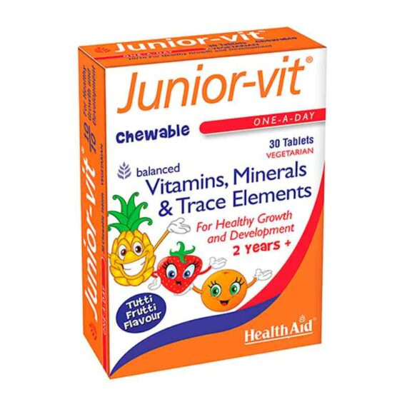 Health Aid Junior chewable tablets