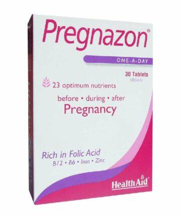 Health Aid Pregnazon tablets