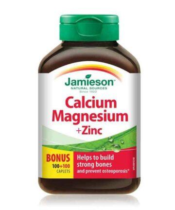 Jamieson Calcium Magnesium Zinc tablets