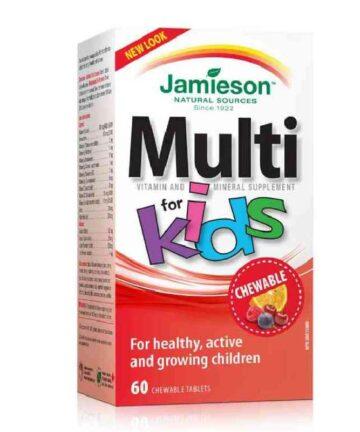 Jamieson Kids Multivitamins Chewable tablets