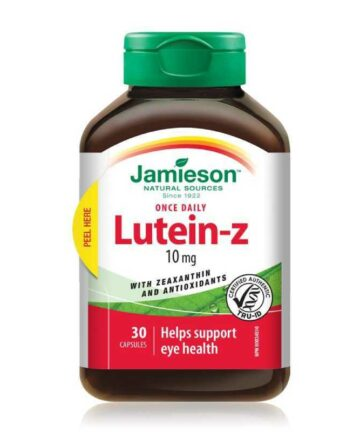 Jamieson Lutein-z capsules