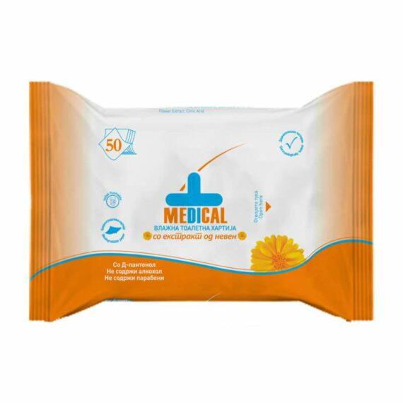 Medical antibacterial toalet paper