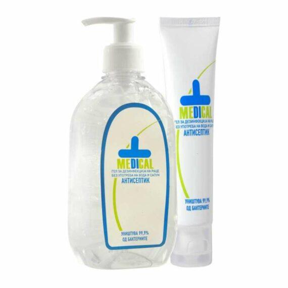 Medical disinfectant hand gel