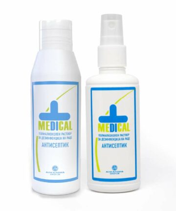 Medical hand disinfection solution