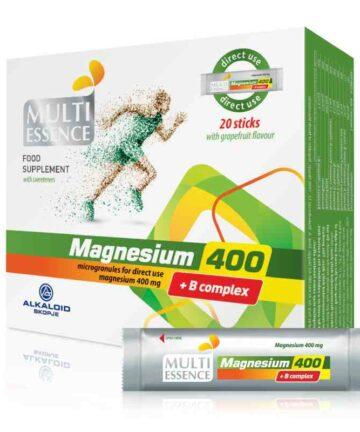 Multi essence Alkaloid Mg+B6 sagets