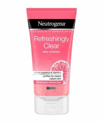 Neutrogena grape fruit daily exfoliator