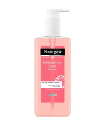 Neutrogena pink cleaning gel