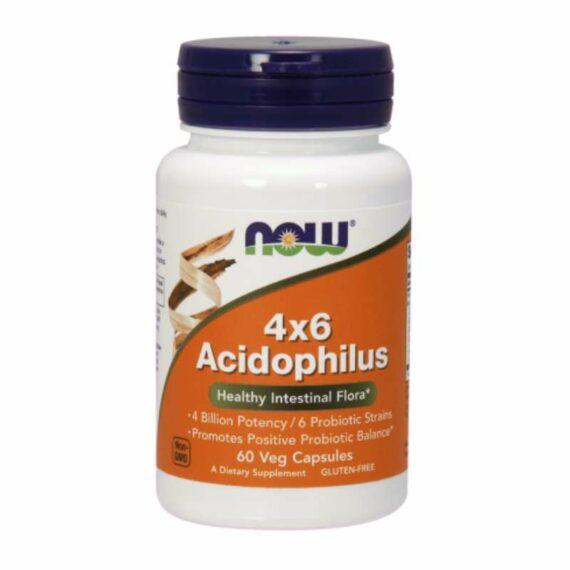 NOW Acidophilus4x6 probiotic capsules