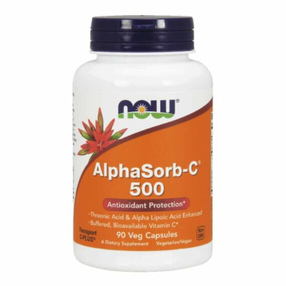 NOW AlphaSorb-C 500 mg tablets