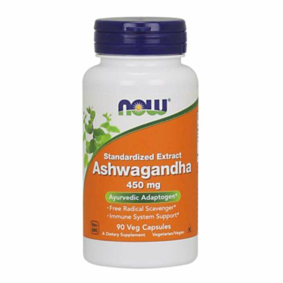 NOW Ashwagandha 450mg capsules
