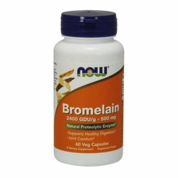 NOW Bromelain capsules