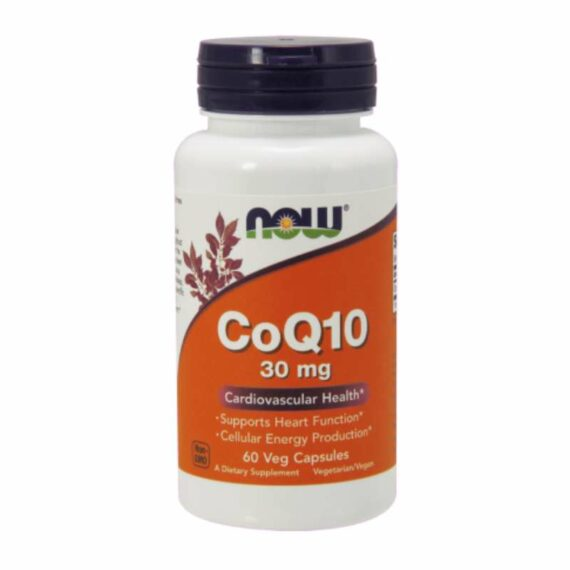 NOW Coenzyme Q10 60 30mg capsules