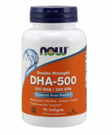 NOW DHA-500 capsules