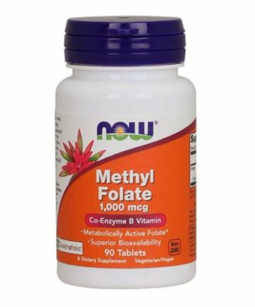 NOW Methyl Folate 1000mcg tablets