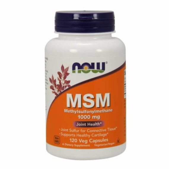 NOW MSM 1000mg capsules