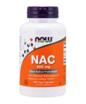 NOW NAC 600mg capsules