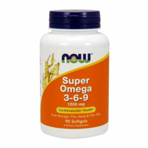 NOW Omega3-6-9 1200mg capsules