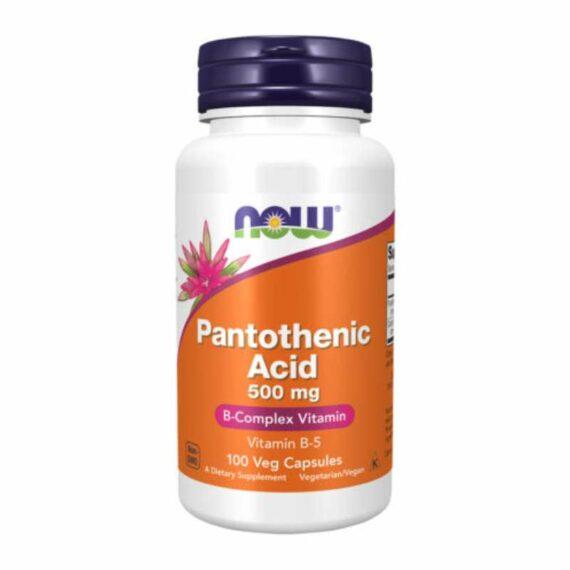 NOW Pantotenic Acid tablets