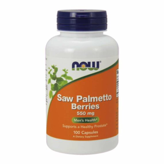 NOW Saw Palmetto capsules